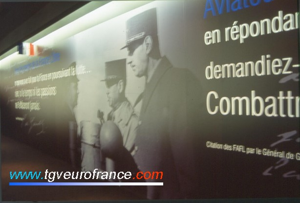 The French general Charles de Gaulle
