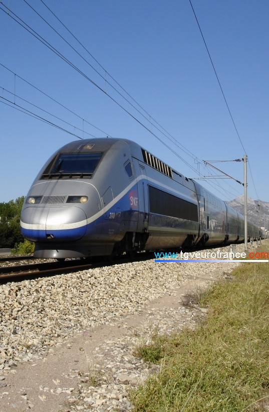 The rolling stock in France